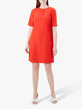Hobbs Carla Shift Dress, Tangerine