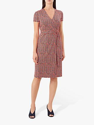 Hobbs Delilah Wrap Dress, Multi