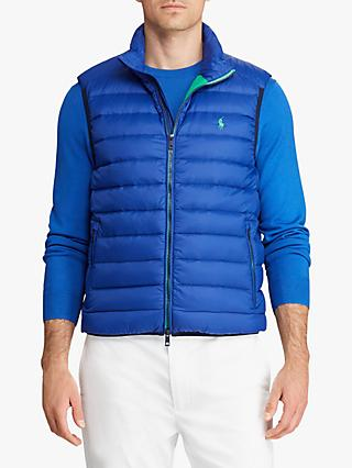 Polo Golf by Ralph Lauren Packable Down Gilet, Sporting Royal