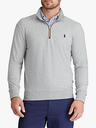 Polo Golf by Ralph Lauren Half Zip Sweatshirt, Andover Heather
