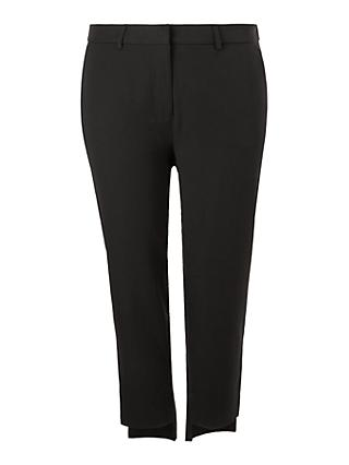 I.Scenery Curve Newbell Trousers, Black