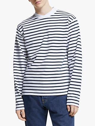 Barbour White Label Lanercost Long Sleeve Stripe T-Shirt