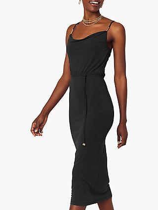 Oasis Cowl Neck Dress, Black