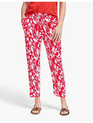 Boden Bembridge Trousers, Red Pop