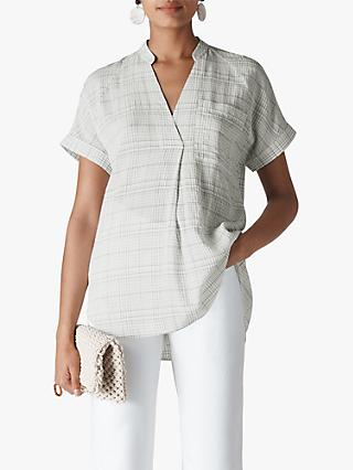 Whistles Lavinia Shirt, White/Multi