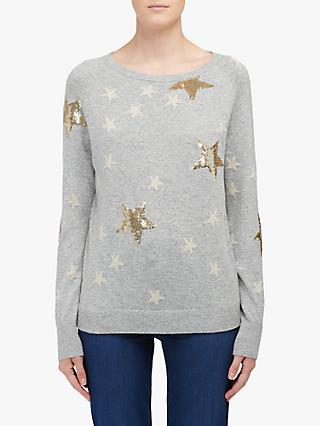 JEFF Clay Sequin Star Jumper