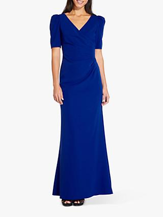 0ad982ae65e Adrianna Papell Plus Elbow Sleeve Long Gown