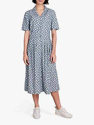 Seasalt Crashing Waves Dress, Little Flower Indigo