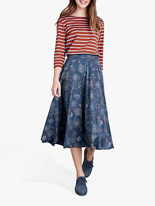 Seasalt River Adur Skirt, Sketched Hedgerow Squall