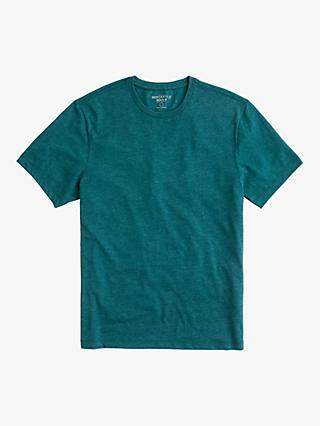 71ebc2458a7 J.Crew Washed Cotton Jersey Crew T-Shirt, Heather Forest