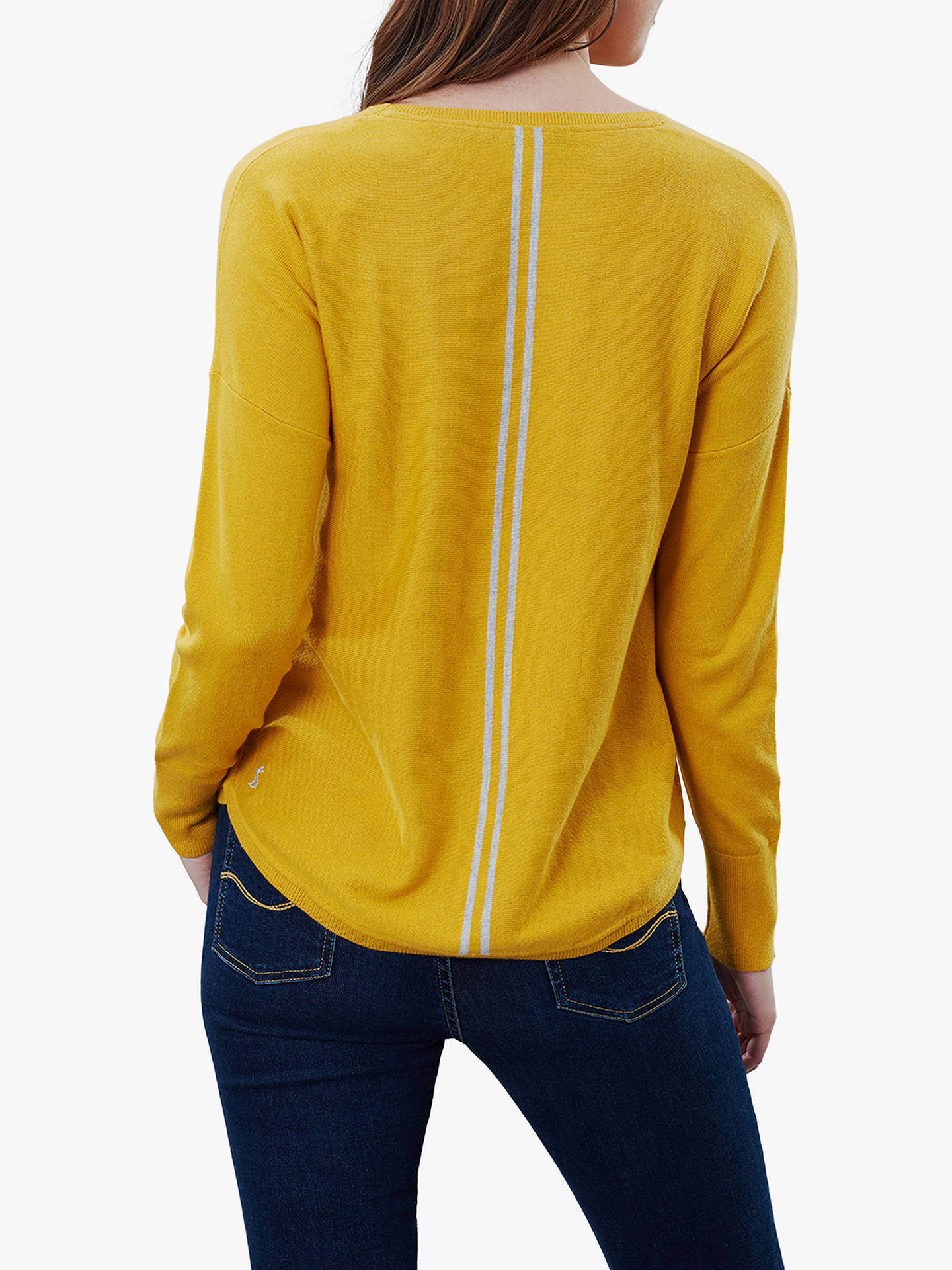 Buy Joules Poppy Cotton Round Neck Jumper, Antique Gold, 8 Online at johnlewis.com