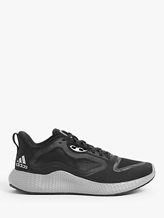 adidas Edge RC Men's Running Shoes, Core Black/Silver Metallic/Cloud White