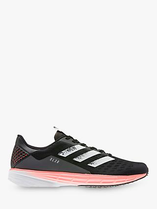 adidas SL20 Men's Running Shoes, Core Black/FTWR White/Signal Coral