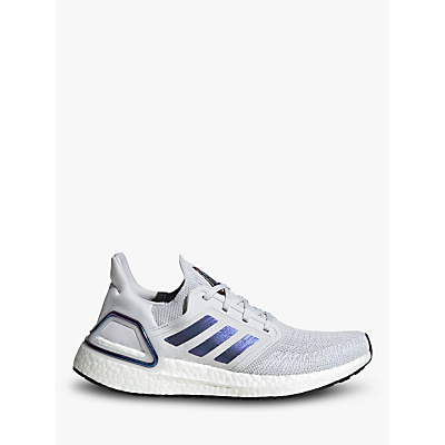Product photo of Adidas ultraboost 20 women s running shoes dash grey boost blue violet met core black