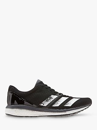adidas Adizero Boston 8 Women's Running Shoes, Core Black/FTWR White/Grey FIve