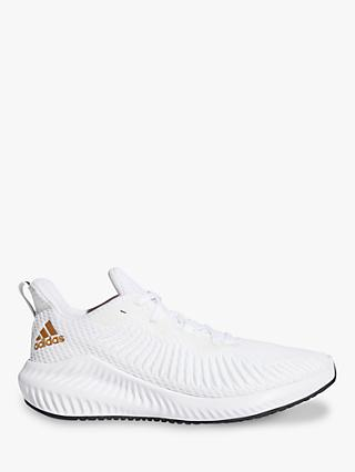 adidas AlphaBounce 3 Women's Cross Trainers, FTWR White/Copper Met./Core Black