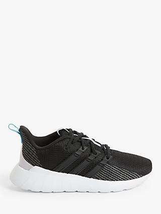 adidas Questar Flow Women's Running Shoes, Core Black/Bright Cyan