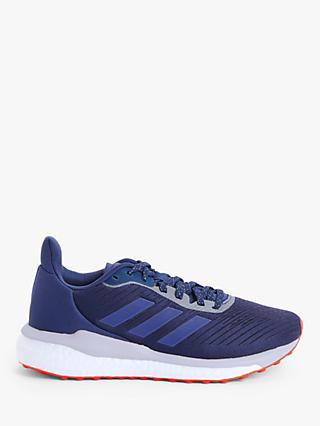adidas Solar Drive 19 Women's Running Shoes, Tech Indigo/Boost Blue Violet Met./Purple Tint