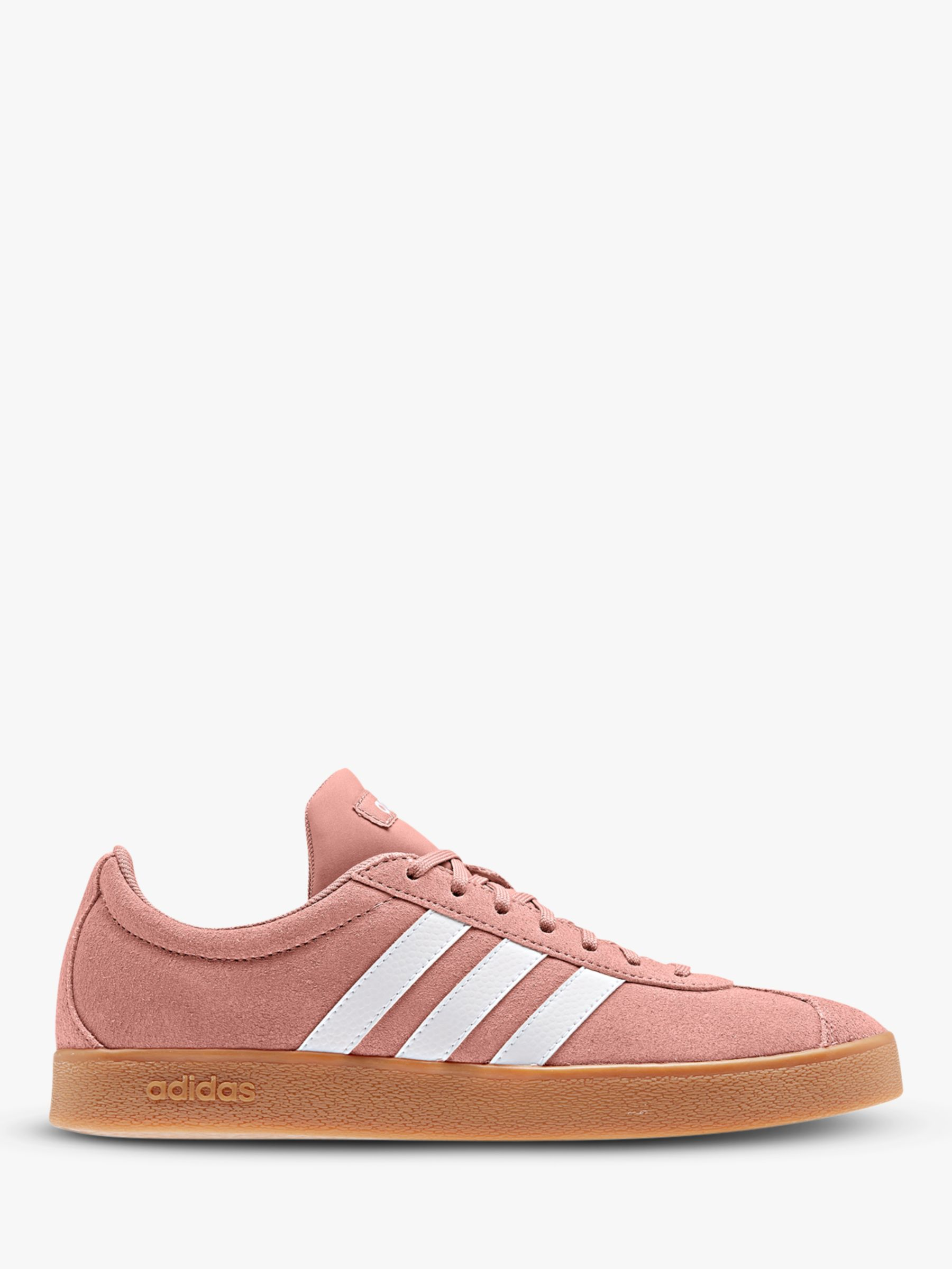 Campeonato represa juntos  adidas VL Court 2.0 Women's Trainers, Raw Pink/FTWR White at John Lewis &  Partners