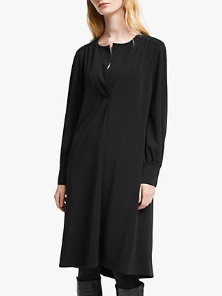 John Lewis & Partners Jersey Placket Dress
