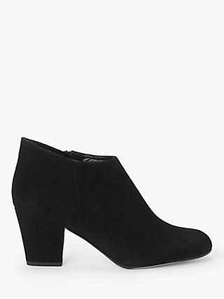 John Lewis & Partners Wilemina Suede Shoe Boots