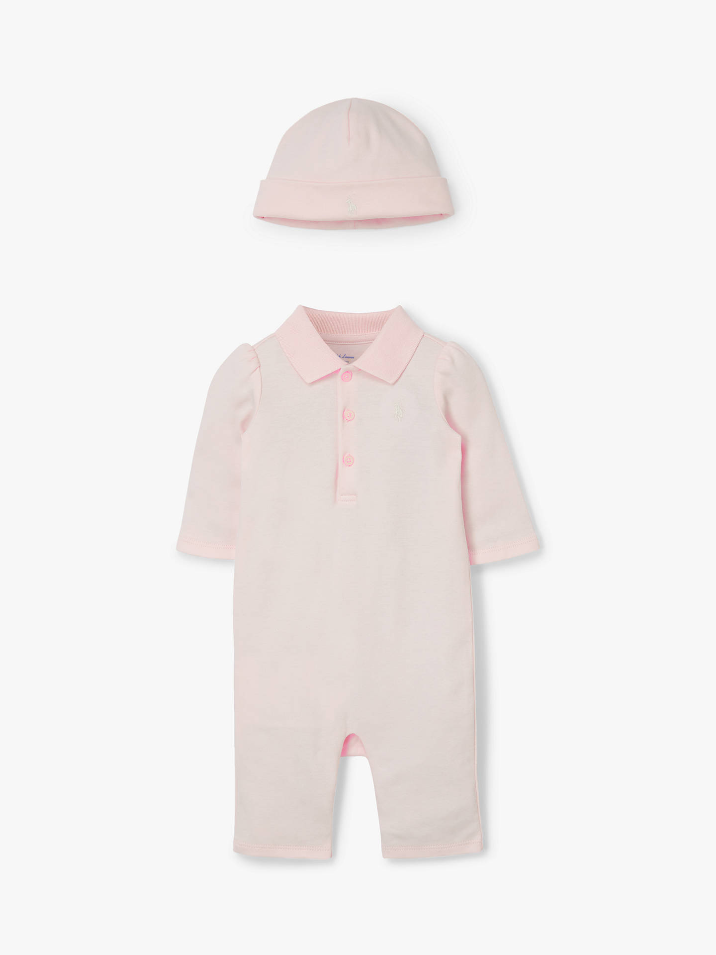 Ralph Lauren Baby Pink Outfit Polo SetLight mnw0yv8ON