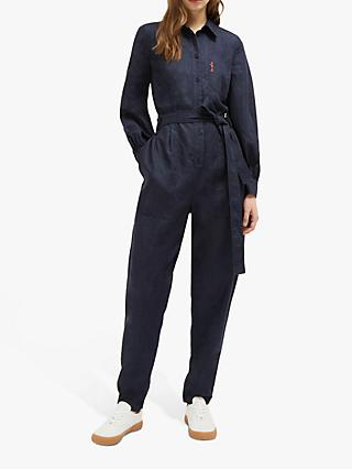 French Connection Be Nice Jumpsuit, Indigo