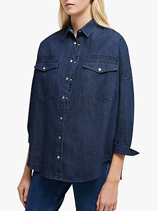 French Connection Marbilla Western Denim Shirt