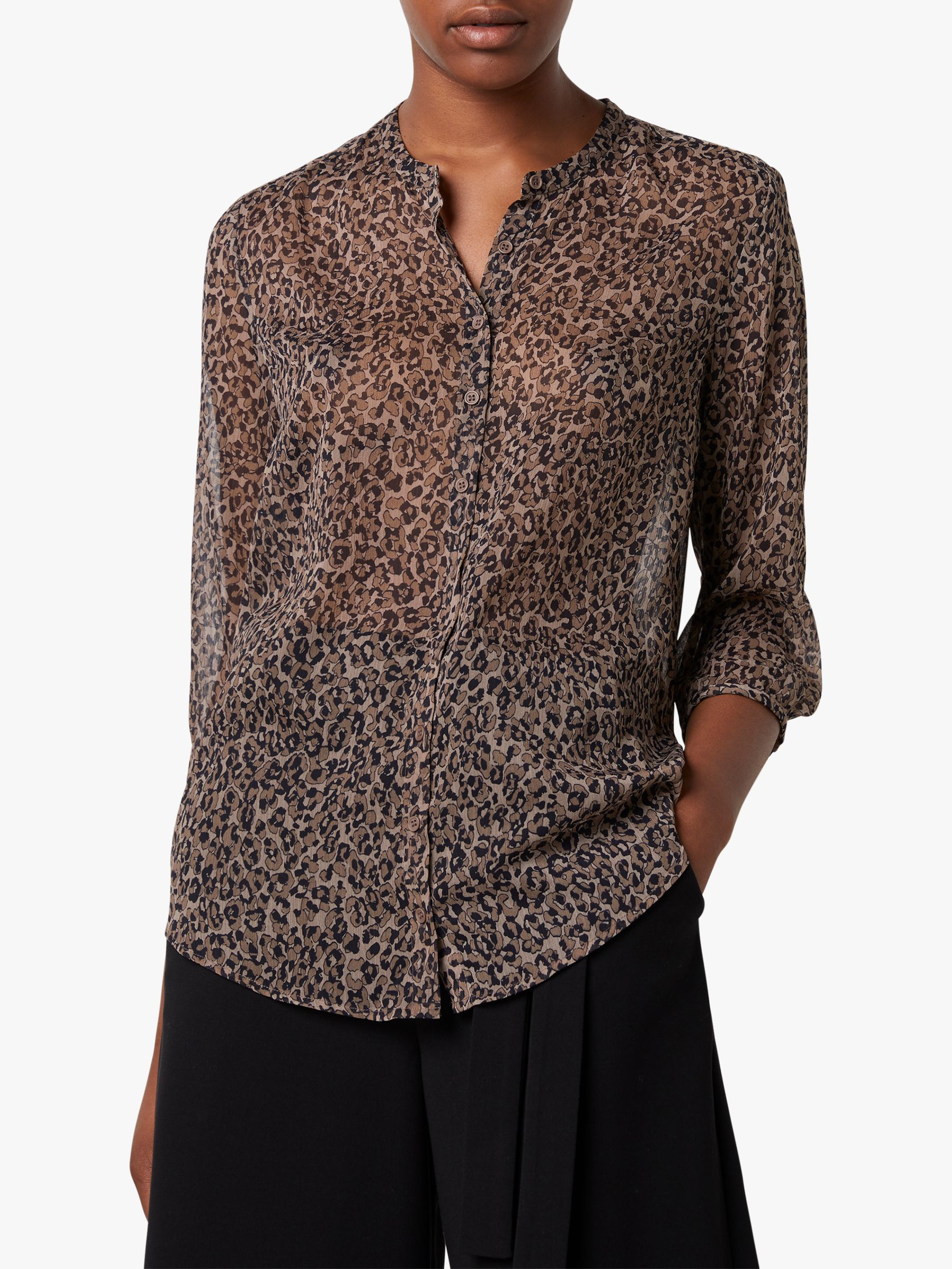 French Connection French Connection Brunella Crinkle Shirt, Sabbia