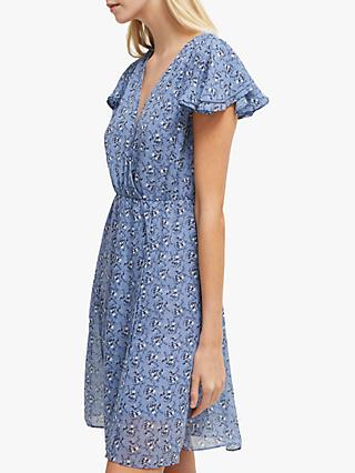 French Connection Agata Floral Dress, Anabelle Blue