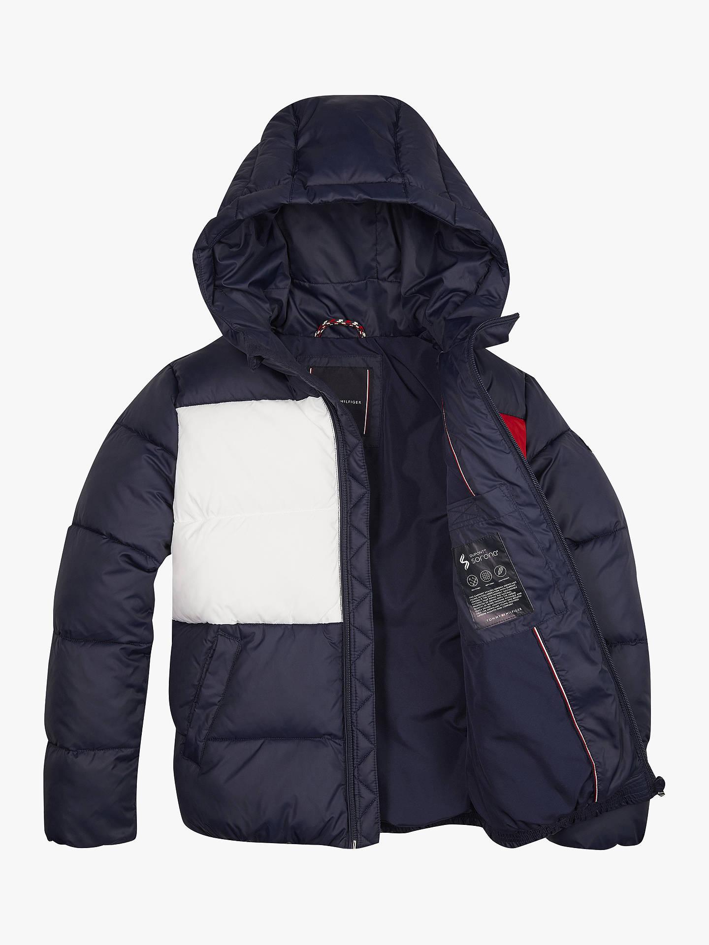 Tommy Hilfiger Boys Padded Flag Jacket