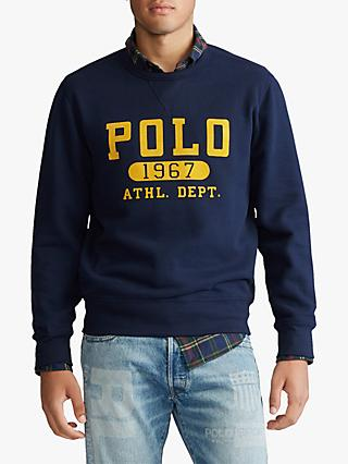 Polo Ralph Lauren Fleece Crew Neck Polo Sweatshirt