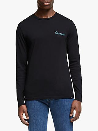 Penfield Moraine Long Sleeve T-Shirt, Black