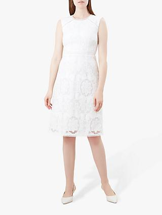 Hobbs Skylar Dress, Ivory