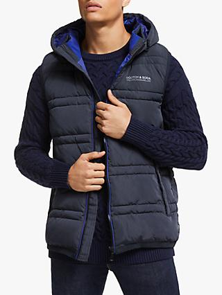 Scotch & Soda Hooded Bodywarmer Gilet