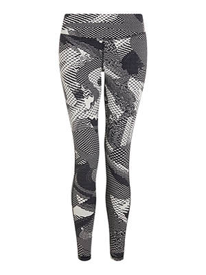 Buy Reebok Lux 2.0 Geo Static Jacquard Training Tights, Stucco, XS Online at johnlewis.com