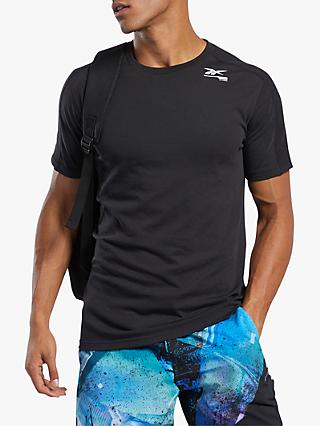 Reebok Speedwick Move Short Sleeve Training Top, Black