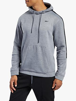 Reebok Workout Ready Training Hoodie, Medium Grey Heather