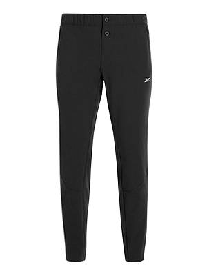 Buy Reebok Training Supply Tracksuit Bottoms, Black, S Online at johnlewis.com
