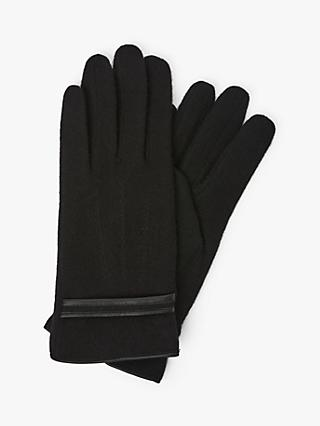 Unmade Mady Wool Blend Gloves, Black