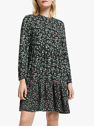 ARMEDANGELS Kaarina Camou Flowers Dress, Black/Multi