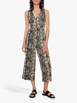 Warehouse Snake Cutout Jumpsuit, Multi