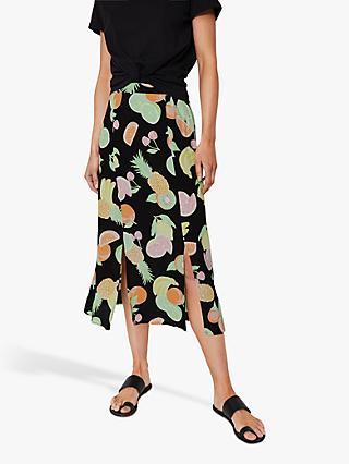 43bb87d384 Midi   Black   Women's Skirts   John Lewis & Partners