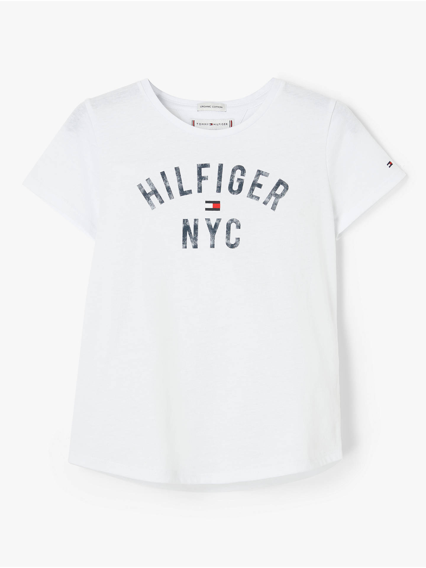 buying cheap best website utterly stylish Tommy Hilfiger Girls' Essential T-Shirt, White