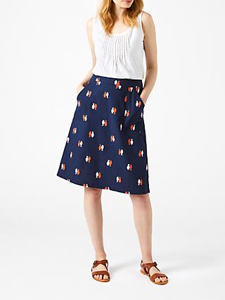 bb213465c98 White Stuff Aubrey Fish Print Skirt