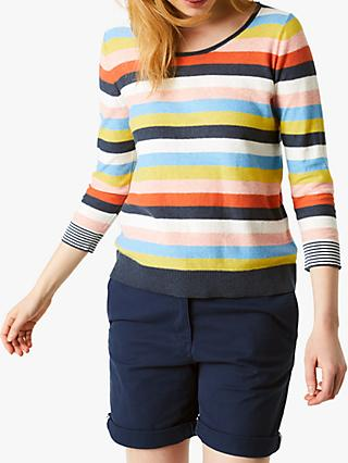 White Stuff Parfait Stripe Jumper, Multi Stripe