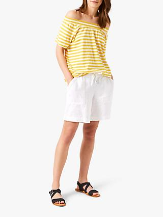 fafb27671c5 White Stuff Breton Bardot T-Shirt