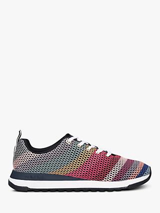 PS Paul Smith Swirl Mesh Rappid Recycled Knit Trainers, Multi