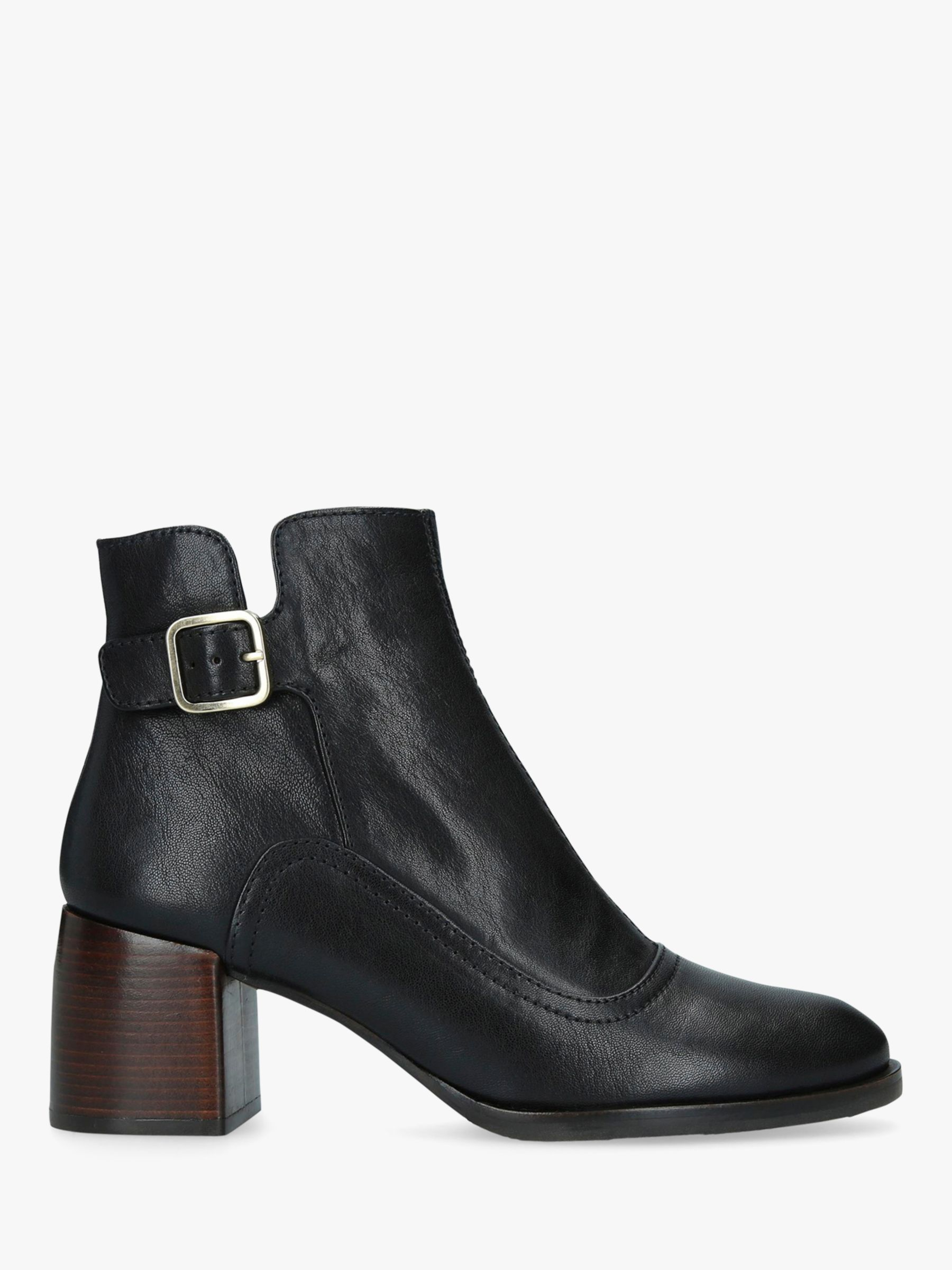 Chie Mihara Chie Mihara Or-Omayo Block Heel Ankle Boots, Black