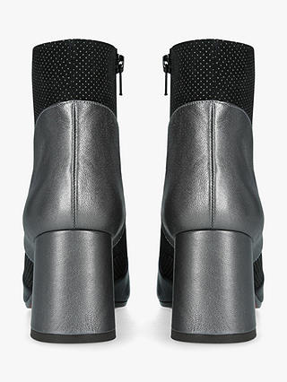 Buy Chie Mihara Moira Block Heel Ankle Boots, Black/Multi, 3 Online at johnlewis.com